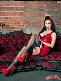 Image #163295 (fetish): jade vixen, latex