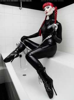 Image #4915 (fetish): catsuit, latex
