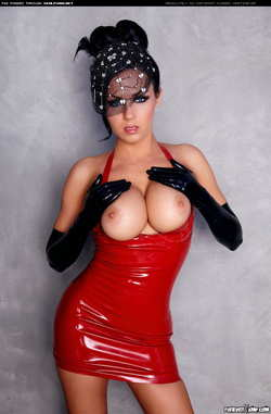 Image #95095 (fetish): isabella fierra, latex, tits