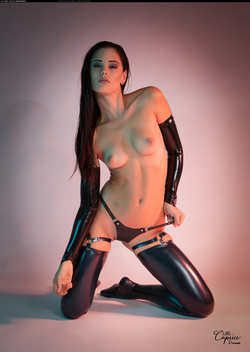 Image #180619 (titties): caprice a, latex, tits