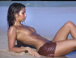 Image #39532 (titties): leilani dowding, tits, wet